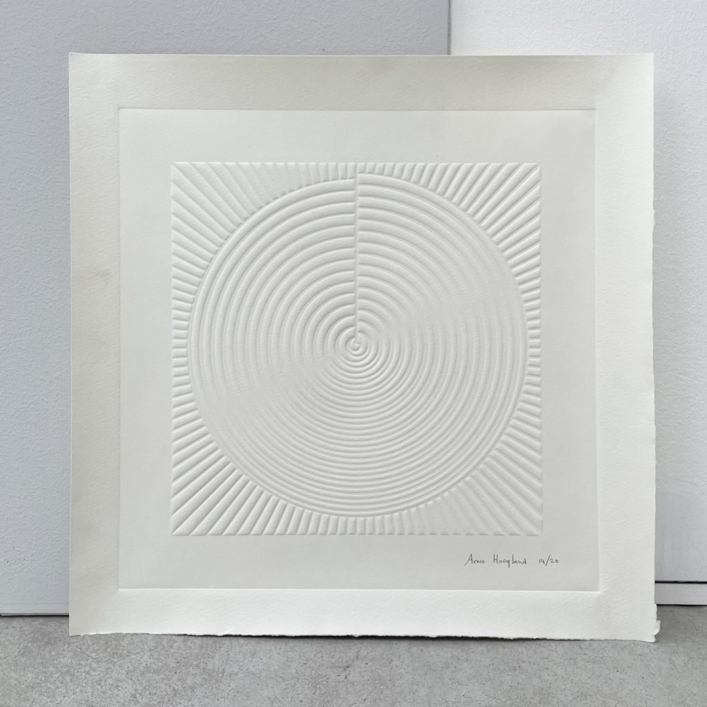 Arno Hoogland - limited edition textured print